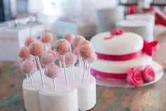Leuk voor kinderen die op je bruiloft komen ipv taart: Cakepops!