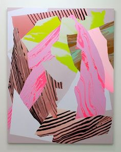 NoëlSkrzypczak,Mountain Painting #8, 2014 Courtesy the artist and Neon Parc