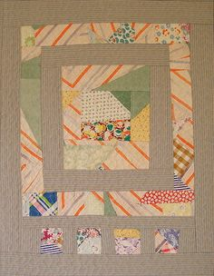 Recycled Quilt #1, by Victoria Gertenbach