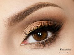"""""""Matte Chic"""" by ilovemyaddiction using the Makeup Geek Beaches and Cream, Corrupt, Creme Brûlée, Latte, Mocha, and Peach Smoothie eyeshadows.  For more ideas visit www.makeupgeek.com"""