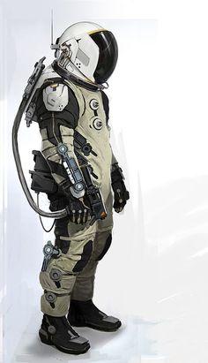 Cool spacesuit