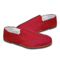 Red Rubber Kung Fu Shoes available at KarateMart.com!