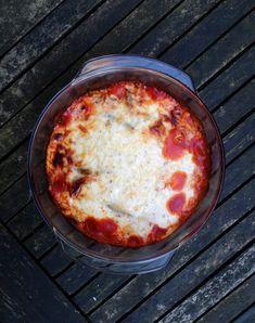 Sperziebonen uit de oven met pittige tomatensaus #recept #happylittlekitchen