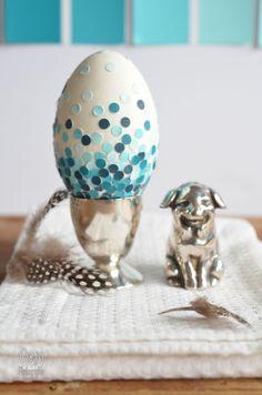Überall & Nirgendwo: Pimp your egg with paint chips oder was ich morgens um 8 im Baumarkt mache!