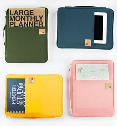 mochi things: A4 Better Together Note Pouch v5