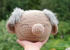 Smart Apple Creations - amigurumi and crochet: Crochet eyeglasses holder