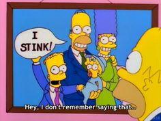 *Apesto* -No recuerdo haber dicho eso...
