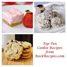 Rock Recipes TOP TEN Cookie Recipes - Rock Recipes -The Best Food & Photos from my St. Cookie Desserts, Just Desserts, Cookie Recipes, Delicious Desserts, Dessert Recipes, Yummy Food, Cookie Cups, Yummy Treats, Sweet Treats