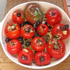 Roasted Heirloom Tomato Sauce is good with a mix of tomatoes but is better with all Cherokee Purple Tomatoes.