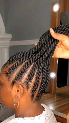 Braided Cornrow Hairstyles, Flat Twist Hairstyles, Feed In Braids Hairstyles, Box Braids Hairstyles For Black Women, Braids Hairstyles Pictures, Braids For Black Hair, Protective Hairstyles, Braided Ponytail, Braids For Black Women Cornrows