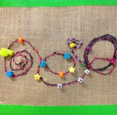 """First grade intro to sewing based on the book """"The Squiggle"""" by  Carole Lexa Schaefer.  OMG the kids ❤️ this! #firstgradeart #arted #arteducation #artclass"""
