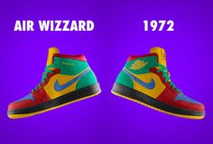 Nike Air Wizzard - I love designing my own Nike shoes on their website.  I spend hours developing footwear.
