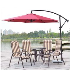 Wine Red Offset Market Restaurant Umbrellas,Outdoor Patio Umbrellas    Everything You Need To Know