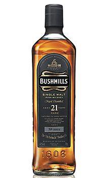 Bushmills 21 Year-Old Single Malt Irish Whiskey, $155.00 #irishwhiskey #gifts #1877spirits