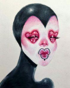 Art Sketches, Art Drawings, Hippie Art, Dope Art, Weird Art, Psychedelic Art, Art Sketchbook, Aesthetic Art, Cartoon Art