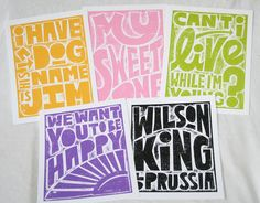 PHISH My Sweet One Song Lyric Typography Poster Print 8x10. $18.00, via Etsy.