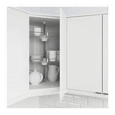 UTRUSTA Wall corner cabinet carousel IKEA 25-year Limited Warranty. Read about the terms in the Limited Warranty brochure.