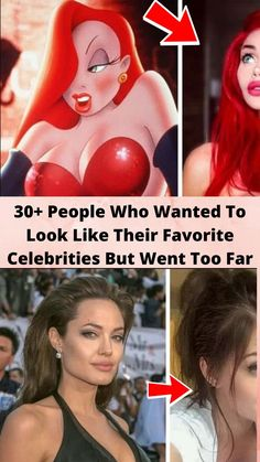 30+ #People Who Wanted To #Look Like Their Favorite #Celebrities But Went Too Far