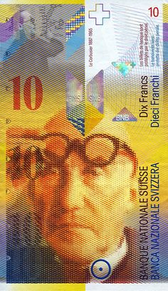 """a """"10-Swiss Francs"""" note.....this is used for payment in our country!"""