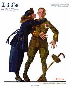The Coward - Life April 10, 1919