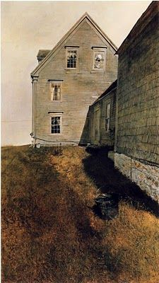 "andrew wyeth, one of my favorites - so ""American""."