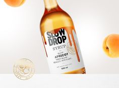 Stas Neretin - Slow Drop Syrup (Concept) PACKAGING DESIGN World Packaging Design Society│Home of Packaging Design│Branding│Brand Design│CPG Design│FMCG Design