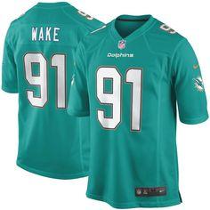 Cameron Wake Miami Dolphins Nike Youth Team Color Game Jersey - Aqua. Camiseta  NflGorras ... c39d7a307c1