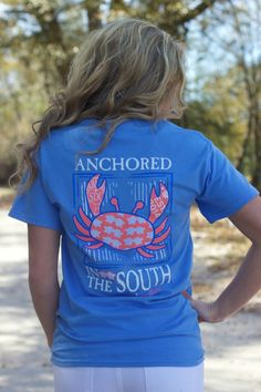 Lavish Boutique  - Southern Darlin' Collection: Anchored In The South Tee, $24.00 (http://lavishboutique.com/southern-darlin-collection-anchored-in-the-south-tee/)