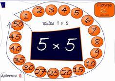 Tablas de Multiplicar en 1 Minuto | Juego Educativo Tablas de Multiplicar | Planeaciones Gratis