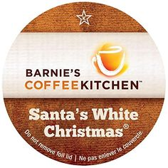 BarnieS Coffee Kitchen SantaS White Christmas 24Ct 20 compatible >>> You can find out more details at the link of the image.