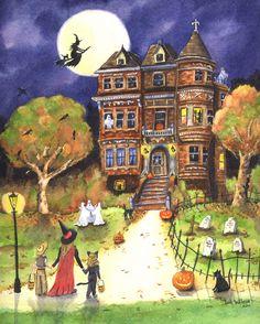 #Halloween Art. by Iva Wilcox
