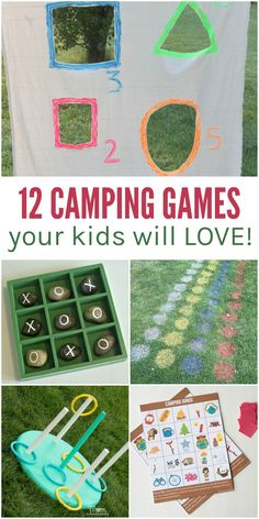 Planning on enjoying the great outdoors with your family? Try some of these fun camping games to keep the whole family entertained.
