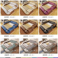 buy Smart massage leather bed tatami bed double bed soft bed modern minimalist master bedroom multi-functional European at taobao agent Leather bed Modern Minimalist Bedroom, Modern Master Bedroom, Bed Furniture, Home Decor Furniture, Furniture Storage, Tatami Bed, Japanese Bed, Wedding Bed, Smart Bed