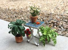 How To Miniature Tile Table June 2015