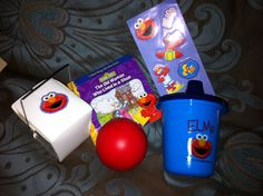Elmo goodies for the bags