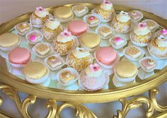 French Macaronsgilded macronsgilt by marionsvintagebakery on Etsy