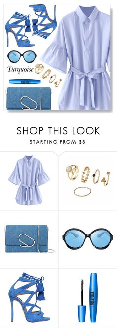 """""""Turquoise"""" by simona-altobelli ❤ liked on Polyvore featuring 3.1 Phillip Lim, Dsquared2 and Forever 21"""