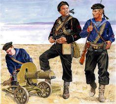 ARMATA ROSSA - Fanti di Marina della Flotta del Nord, 1941