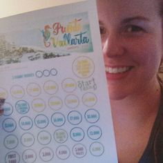 Got my Puerto Vallarta tracker sheet printed out and I'm ready to start earning this trip!!  . If you want to earn a FREE vacation to Mexico the time to join #jamberry is NOW!!