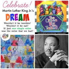A Box of Crayons: Martin Luther King Jr. Lesson Plan: Multicultural Art and Craft Lessons for Kids: KinderArt ®