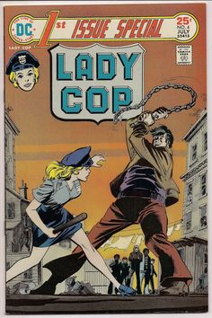 LADY COP 1 First Issue Special 4 1975 @QualityComicsAmerica#@sashakeen #@qualitycomicsamerica #4vintagecomics #Vintage #gotvintage #Marvel Comics #DC Comics #Vintage Comics #comics #Gotham #Batman #Legendsof Tomorrow #Arrow #ladycop