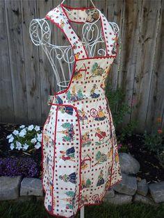 Pretty vintage apron