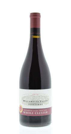 Willamette Valley Vineyards Whole Cluster Pinot Noir 2012