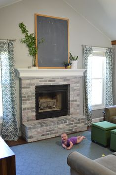 13 best how to whitewash brick images fireplace set fire places rh pinterest com