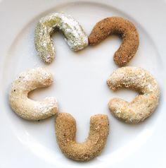 Crescent Rolls, Christmas Cookies, Xmas Cookies, Christmas Crack, Croissants, Christmas Biscuits, Christmas Desserts, Horn, Horns