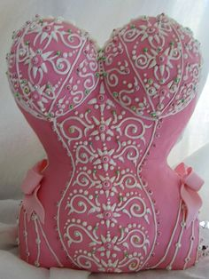 corset cake by Karen Portaleo/ Highland Bakery, via Flickr