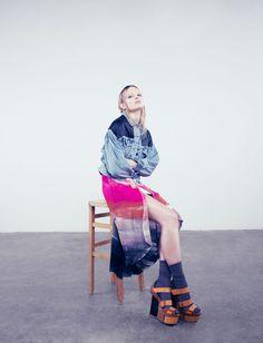 NATALIA  Fotografía: Pelle Crepin  Fashion Gone Rouge
