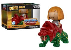 Masters of the Universe: He-Man with Battle Cat Dorbz Ridez by Funko, Funko-Shop exclusive, January 2017 release LE 5,000 pieces