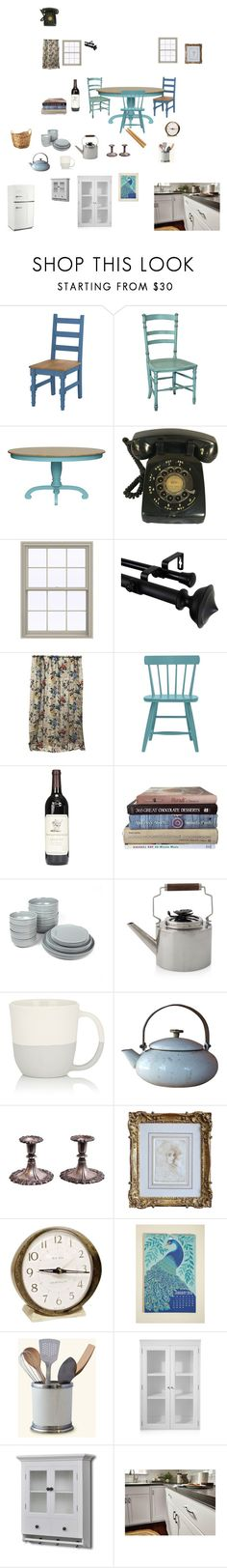 """Shaun the sheep kitchen"" by suecia on Polyvore featuring interior, interiors, interior design, hogar, home decor, interior decorating, Redford House, Rod Desyne, GP & J Baker y Menu"