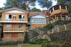 Emily's Garden Suites back facade Team Building Program, Baguio City, Covered Garden, Facade, Hotels, Mansions, House Styles, Home Decor, Decoration Home